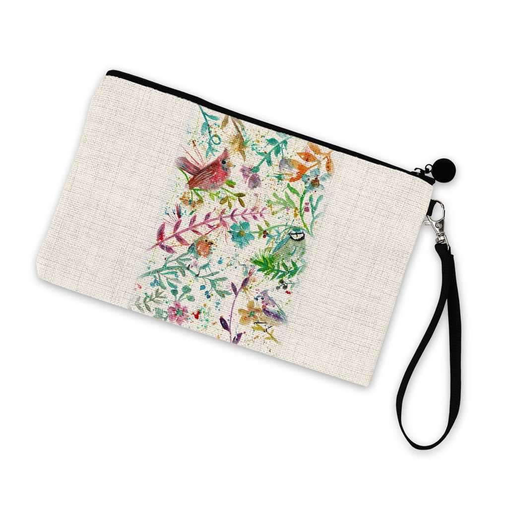 Hedgerow Linen Cosmetic Bag