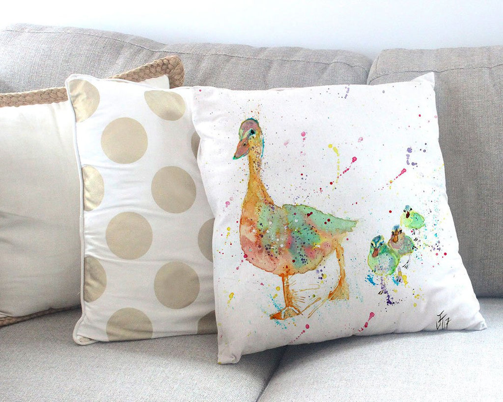 Waddle Canvas Cushion Cover