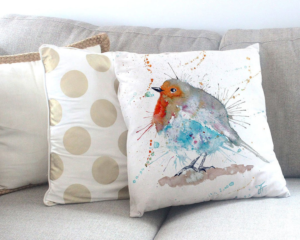 Pudding Canvas Cushion Cover
