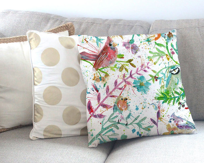 Hedgerow Canvas Cushion Cover