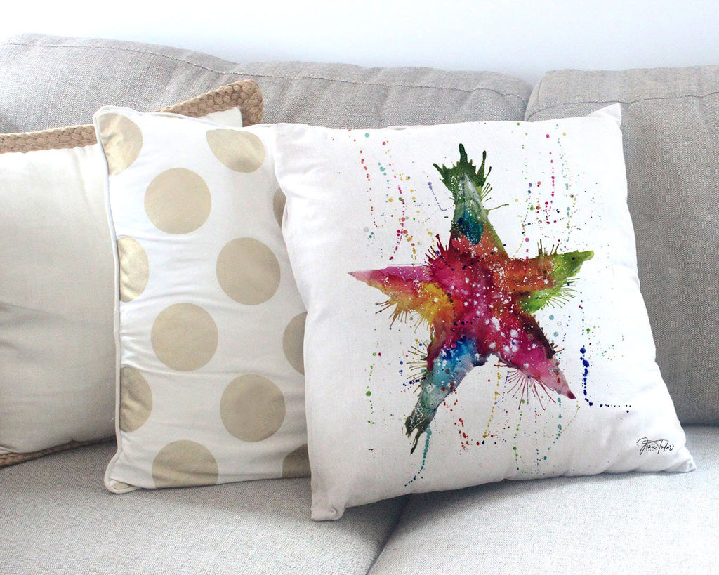 Star! Canvas Cushion Cover