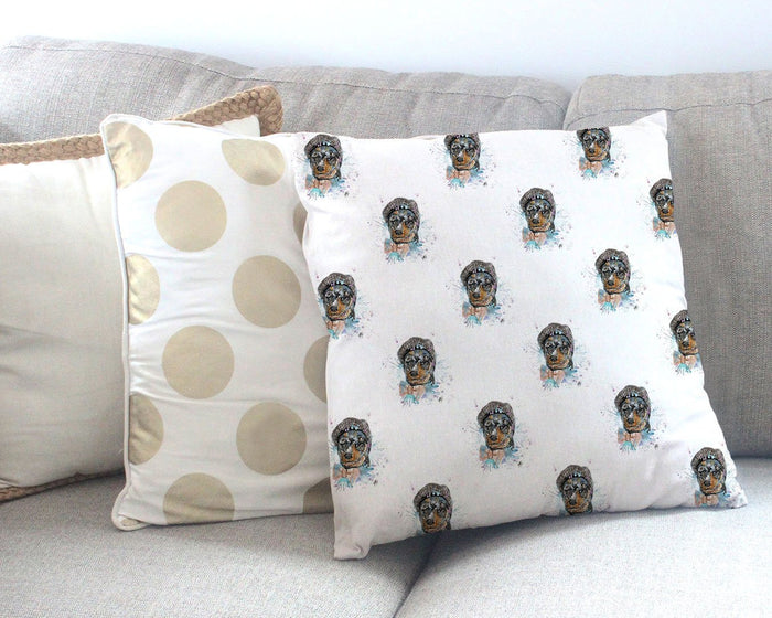 Mitch Repeat Canvas Cushion Cover