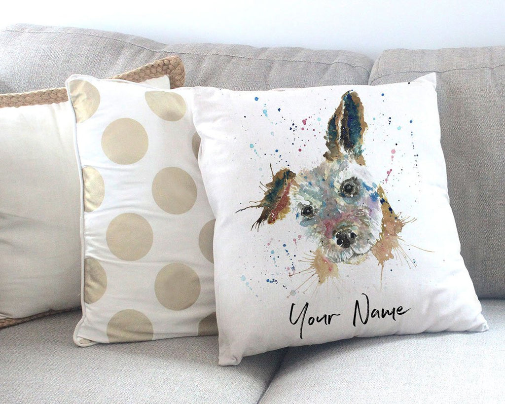 Cuteness Personalised Canvas Cushion Cover