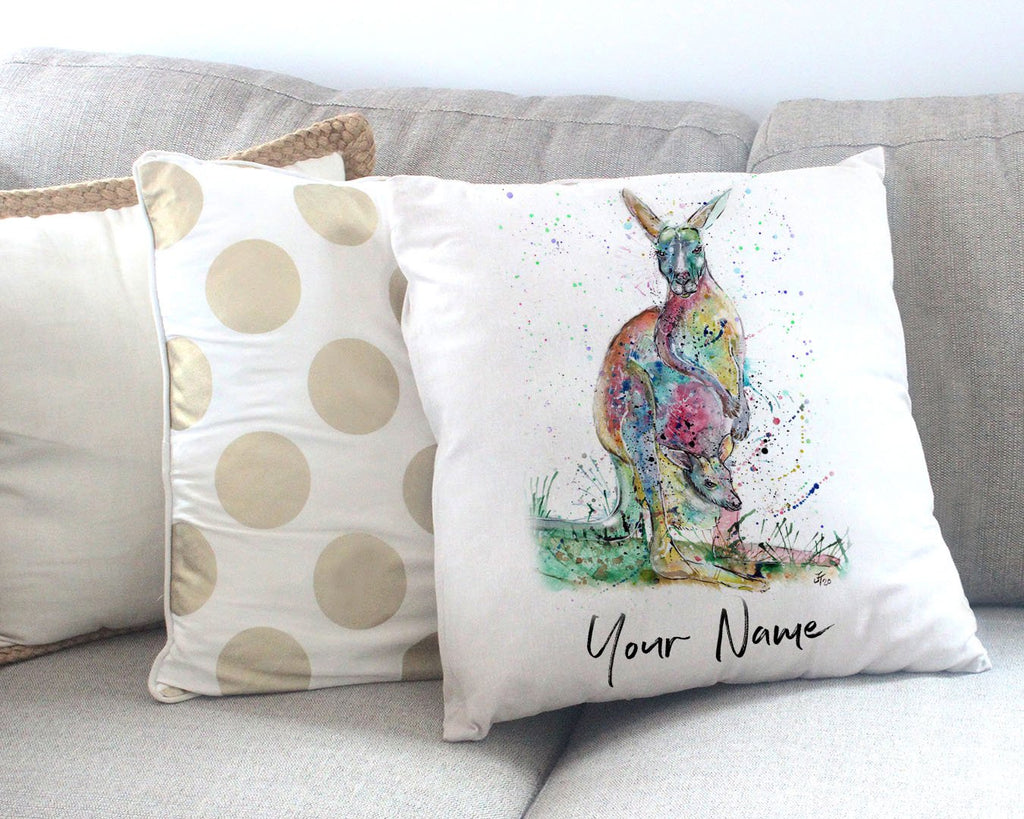 HOP! Personalised Canvas Cushion Cover