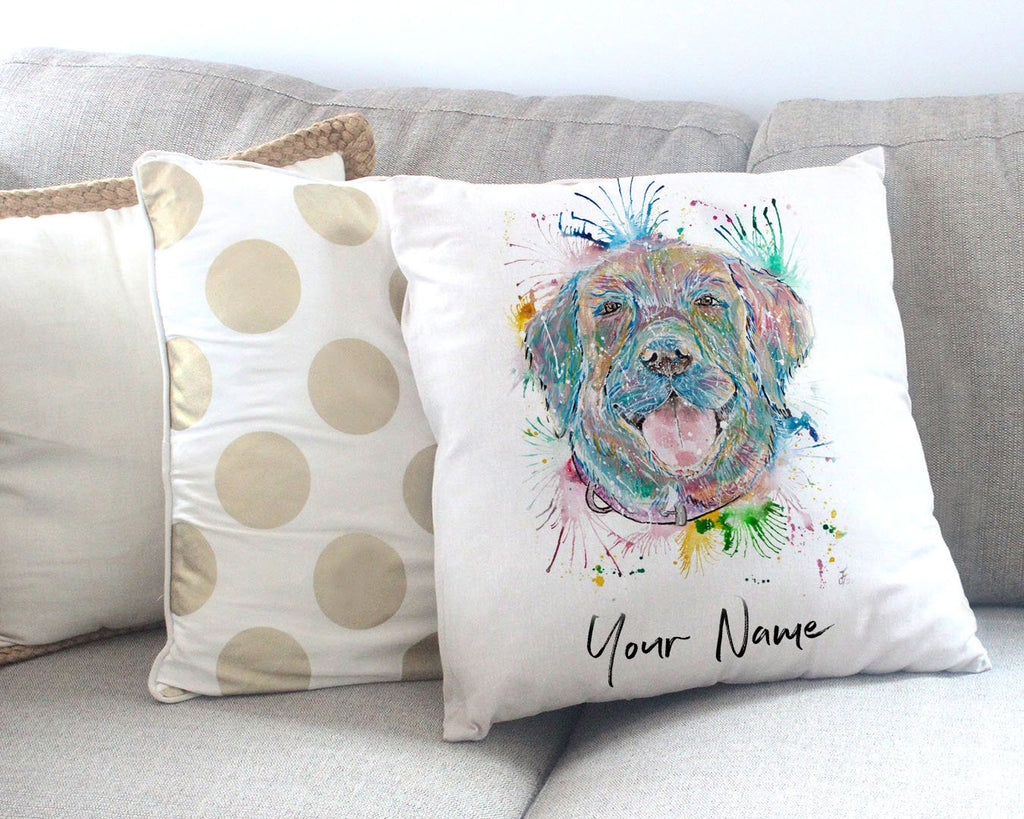 Best Friend Personalised Canvas Cushion Cover