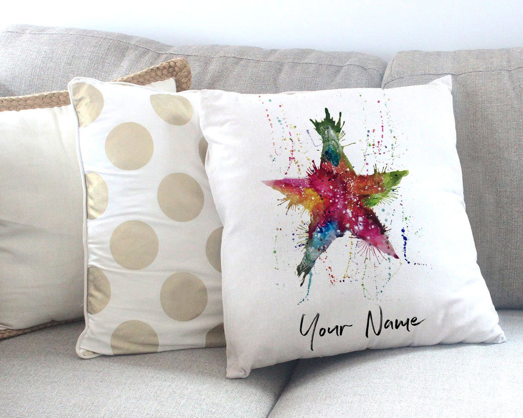 Star! Personalised Canvas Cushion Cover