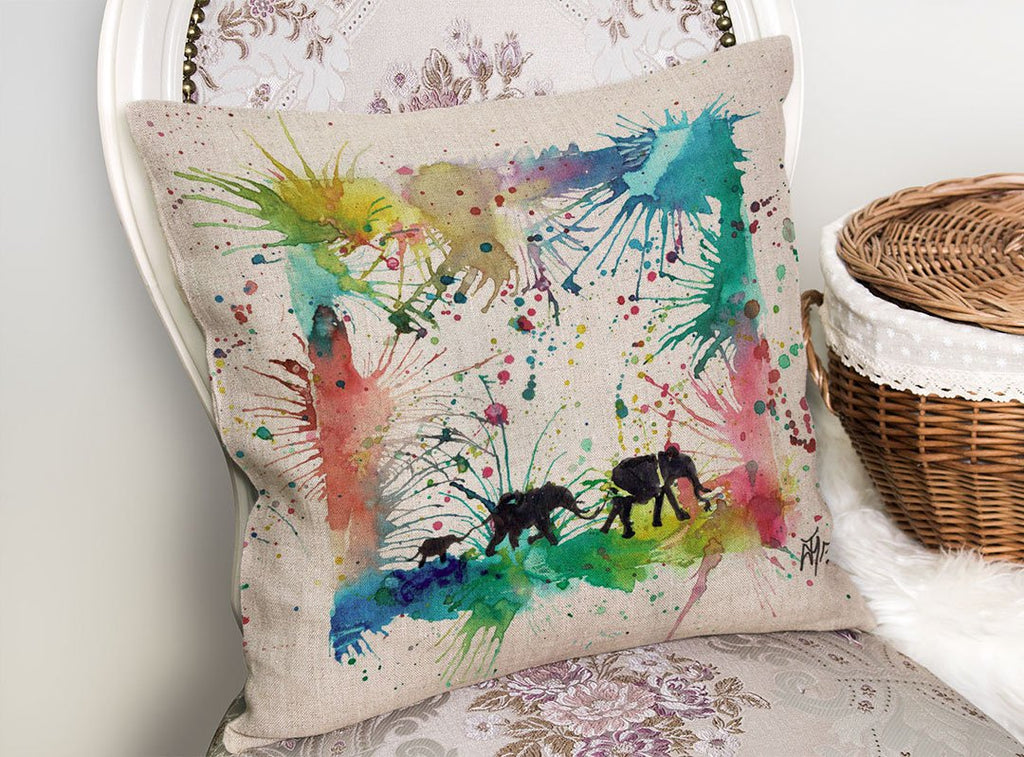 Herd Linen Cushion Cover
