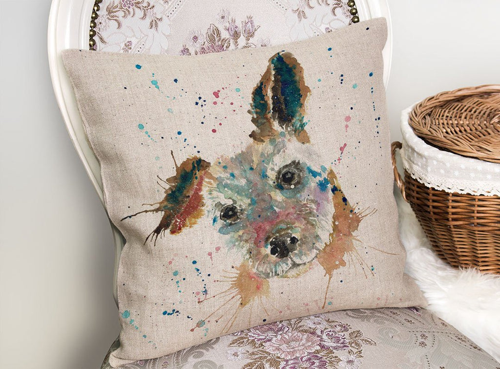Cuteness Linen Cushion Cover