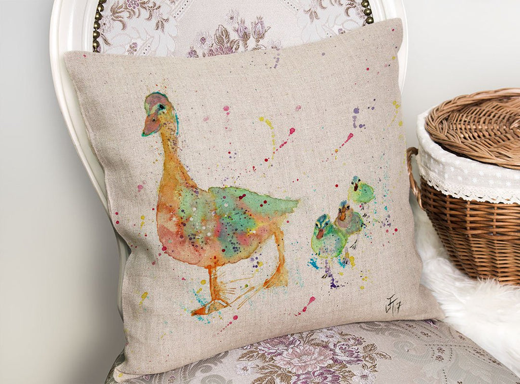 Waddle Linen Cushion Cover
