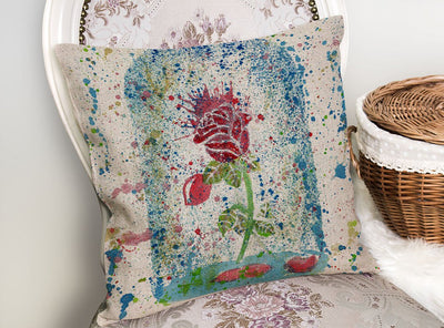 Magic Rose Linen Cushion Cover
