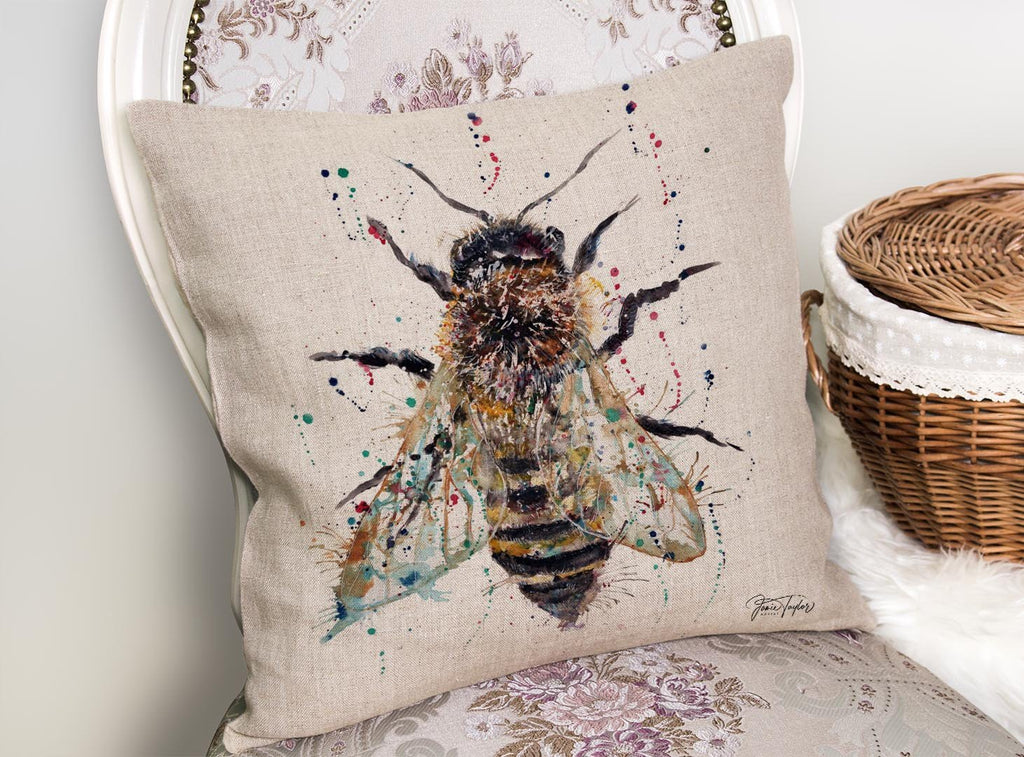 Honey Linen Cushion Cover