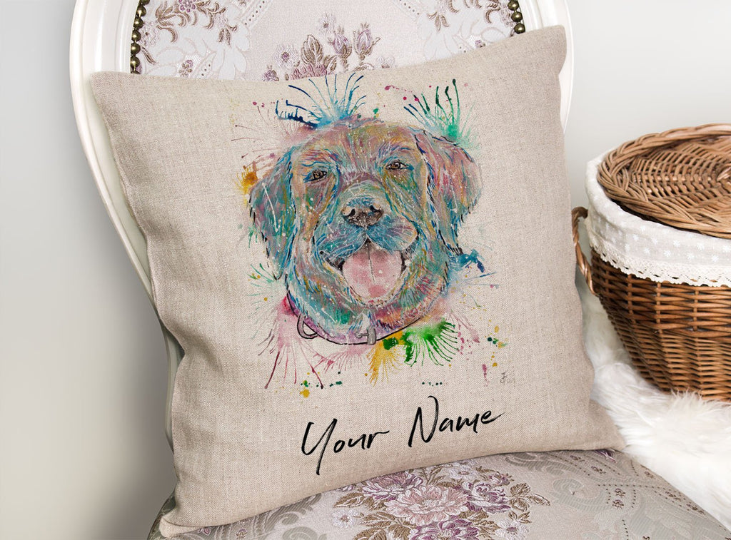 Best Friend Personalised Linen Cushion Cover