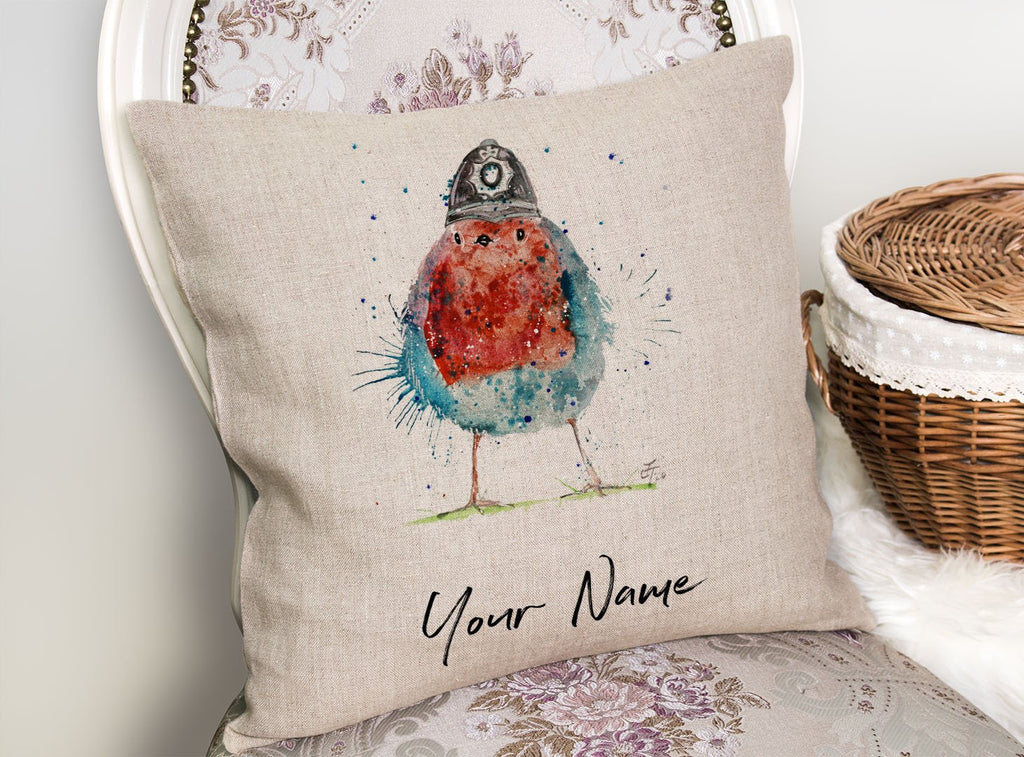 Ello Ello Ello Personalised Linen Cushion Cover