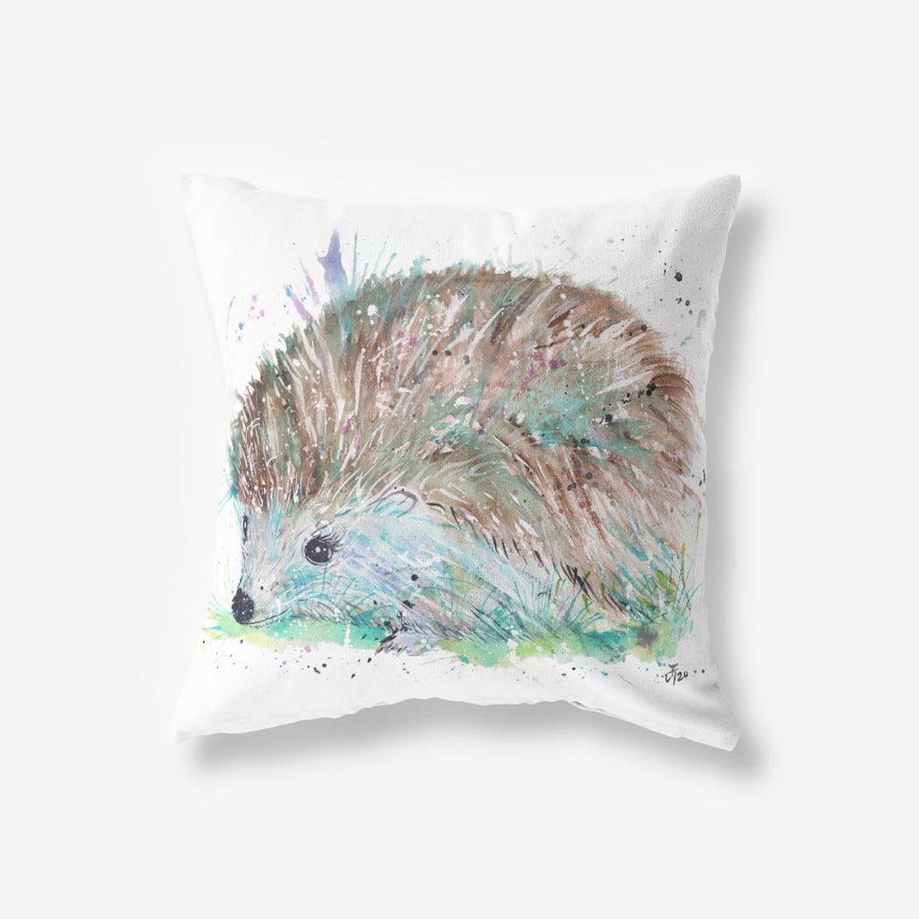 Sweet Hedgehog Faux Suede Cushion