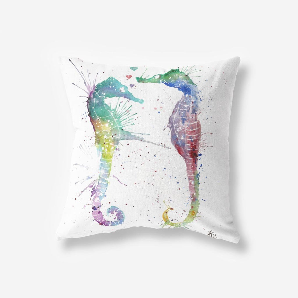 You and Me Faux Suede Cushion