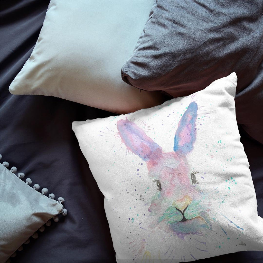 Mrs Bunny Faux Suede Cushion