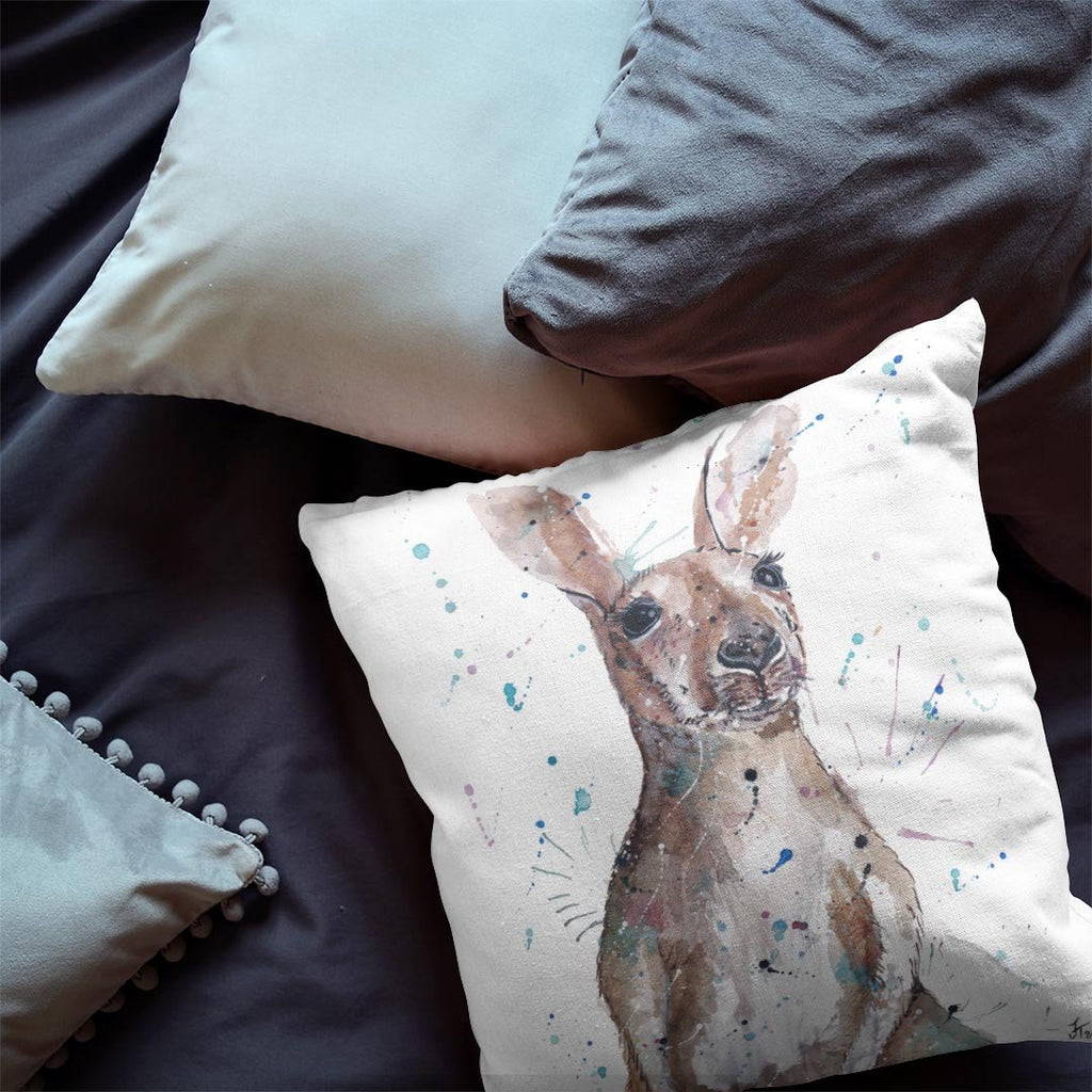 Casey Kangaroo Faux Suede Cushion