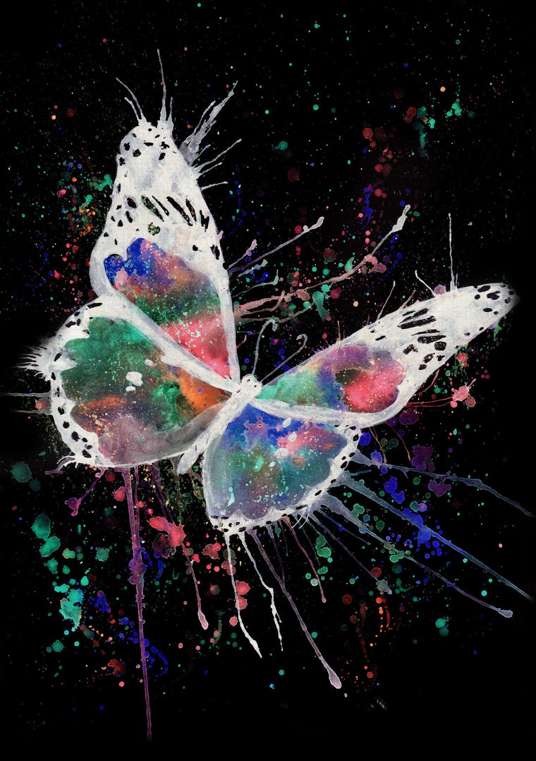 "Jamie Taylor Enchanted range ""Flutter"" Print or Ready to hang Canvas"