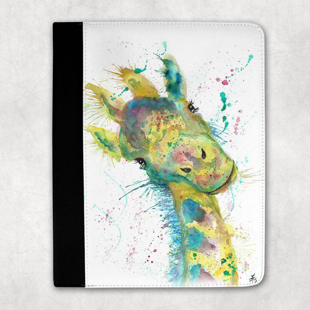 """Hattie"" Giraffe Folio Tablet Case"