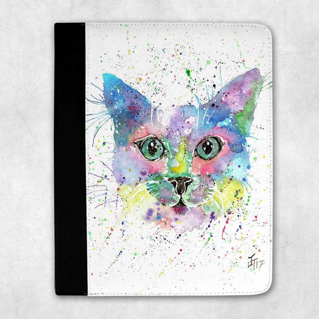"""Meep"" Cat Folio Tablet Case"