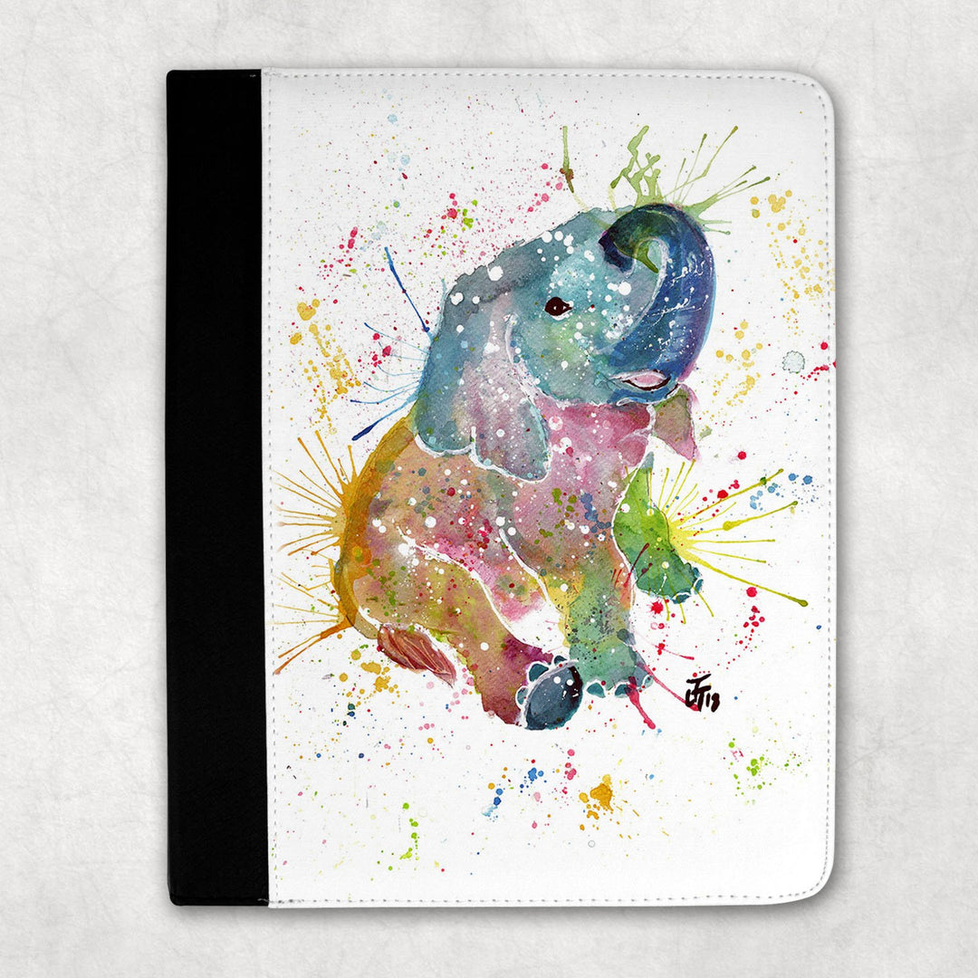Baby Elephant Folio Tablet Case