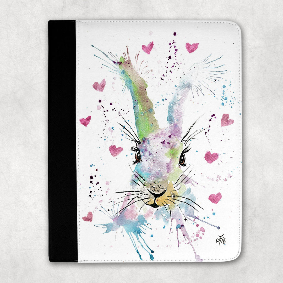 Valentines Bunny Folio Tablet Case