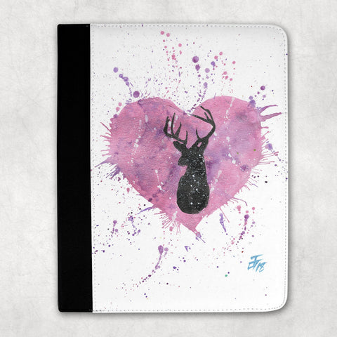 Stag Heart Folio Tablet Case