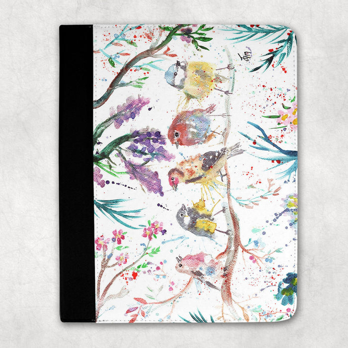 """Tree Friends"" Birds Folio Tablet Case"
