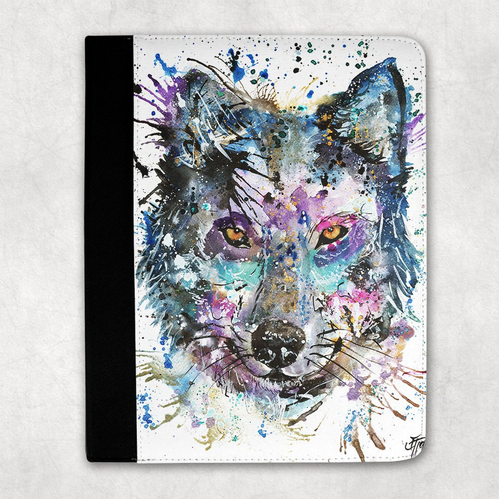 """Howl"" Wolf Folio Tablet Case"