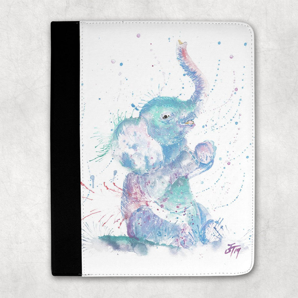 """Arthur"" Baby Elephant Folio Tablet Case"