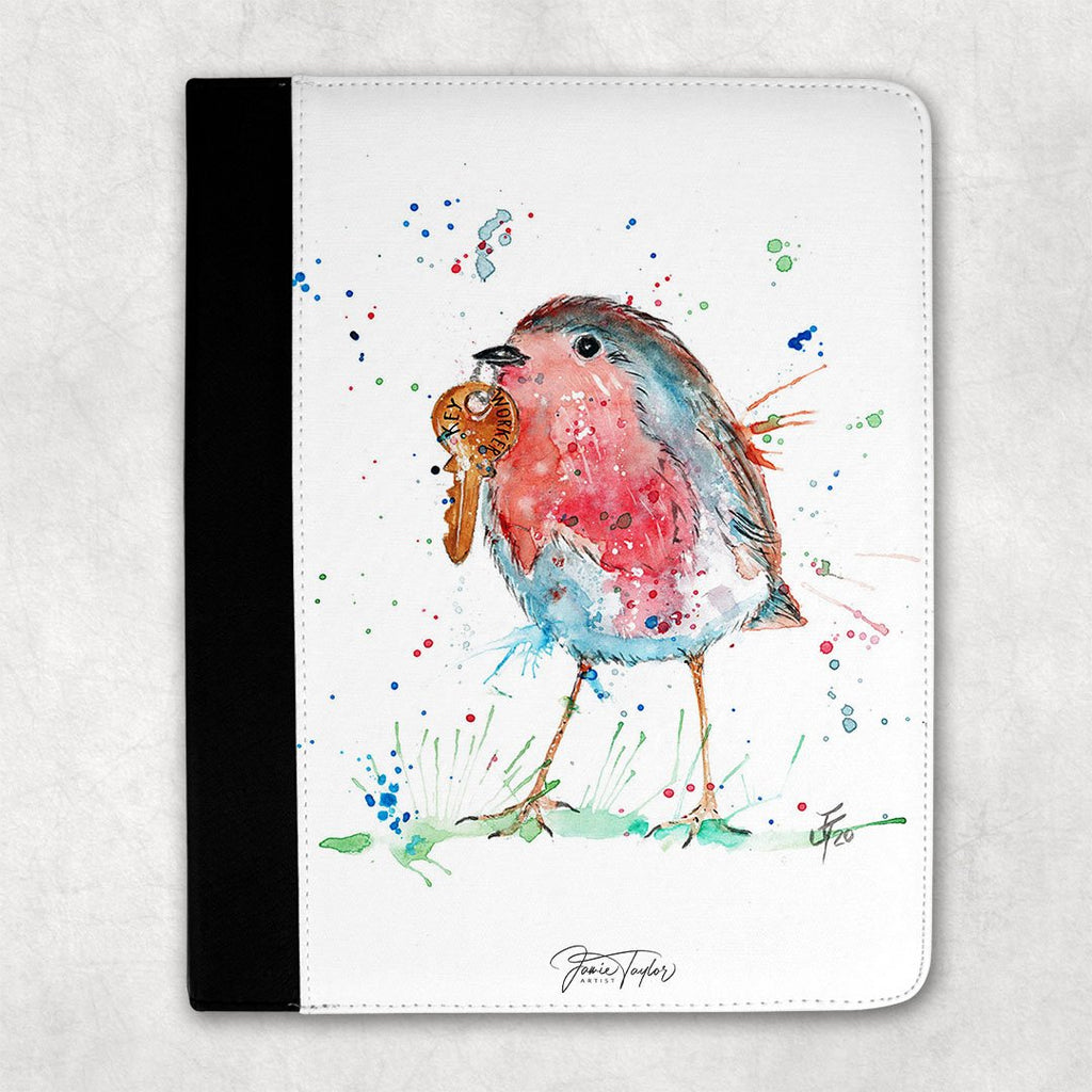 """Grateful"" Robin Folio Tablet Case"