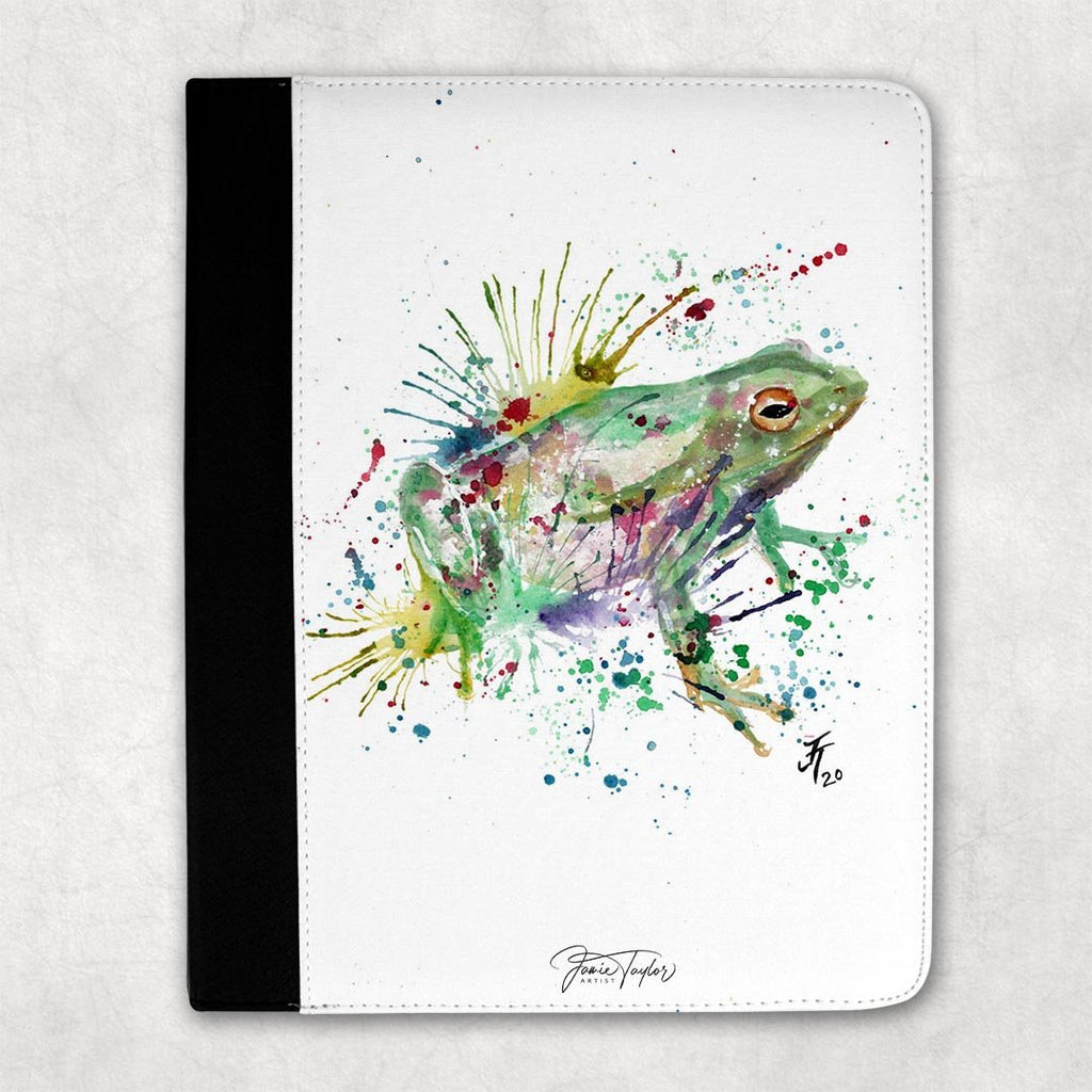 """Ribbit"" Frog Folio Tablet Case"