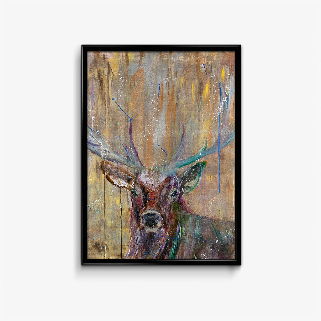 """Illustrious"" Stag Signed Fine Art Print"