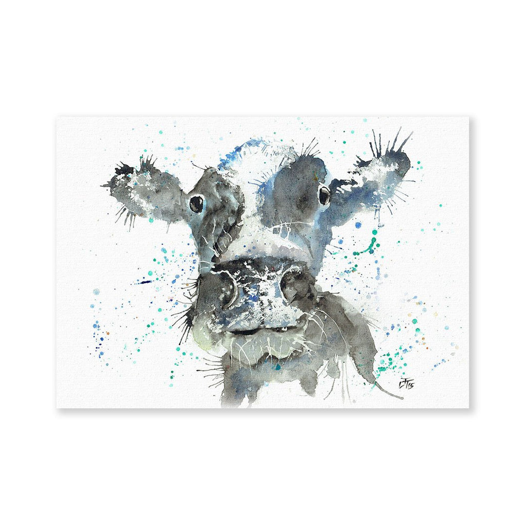 """Moo"" Cow Signed Fine Art Print"