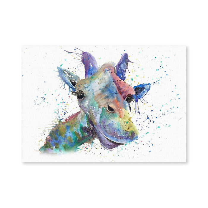 """Smile"" Giraffe Signed Fine Art Print"