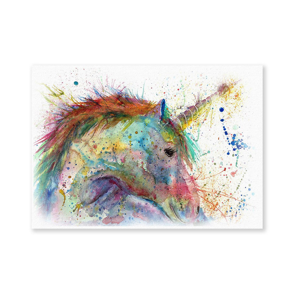 """Swirl"" Unicorn Signed Fine Art Print"