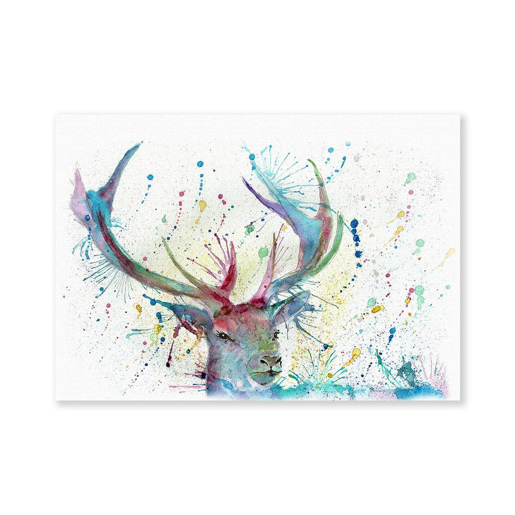 """Proud"" Stag Signed Fine Art Print"