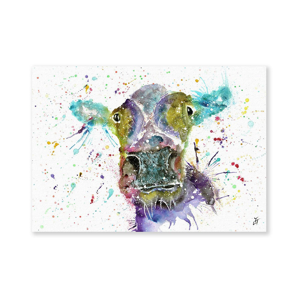 """Daisy"" Cow Signed Fine Art Print"