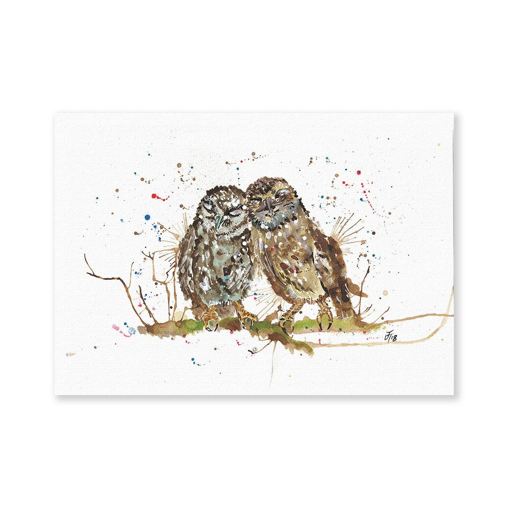 My Favourite Owl Signed Fine Art Print