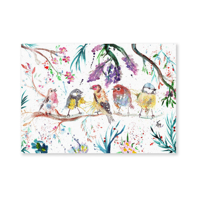 """Tree Friends"" Birds Signed Fine Art Print"