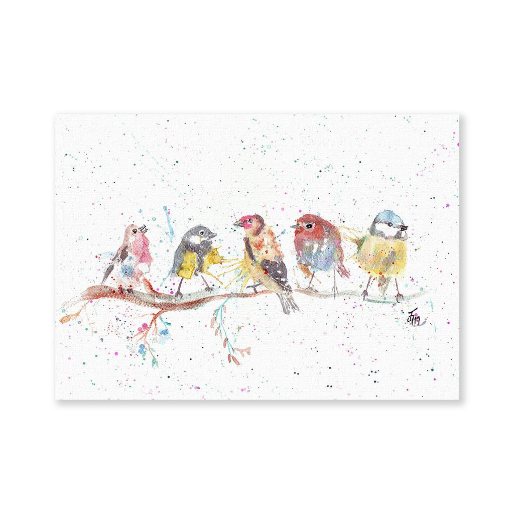 """Tree Friends"" Birds 2 Signed Fine Art Print"