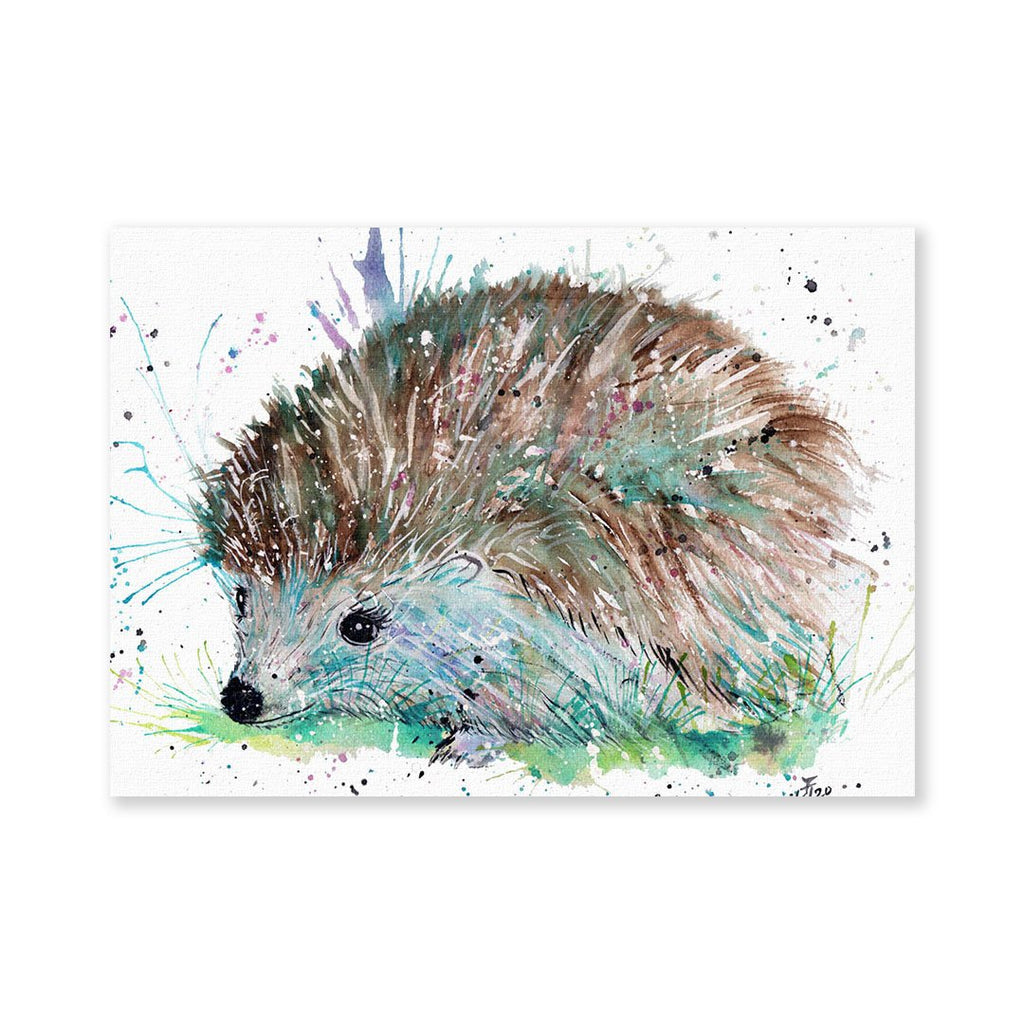 """Sweet"" Hedgehog Signed Fine Art Print"