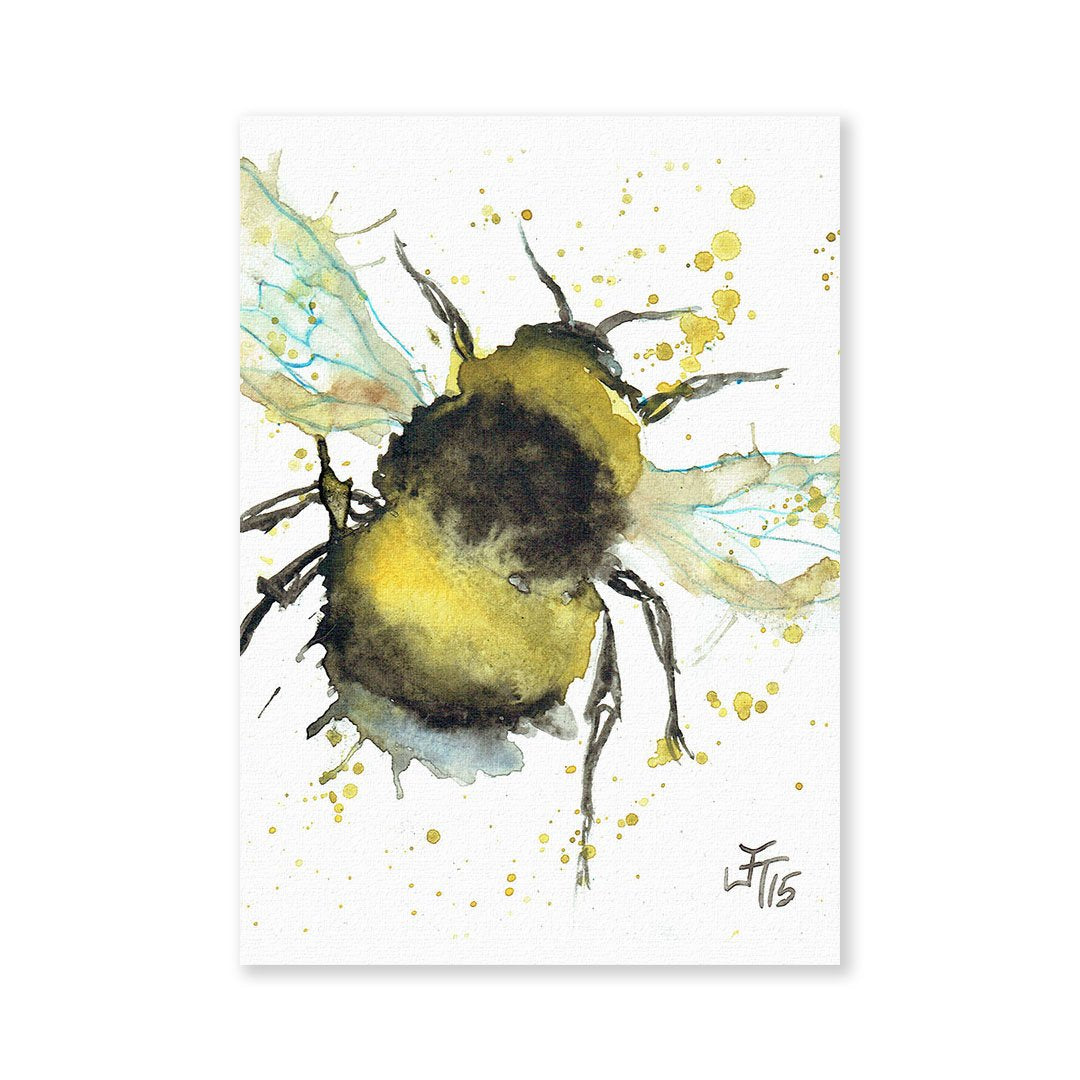 Bumble Bee Signed Fine Art Print