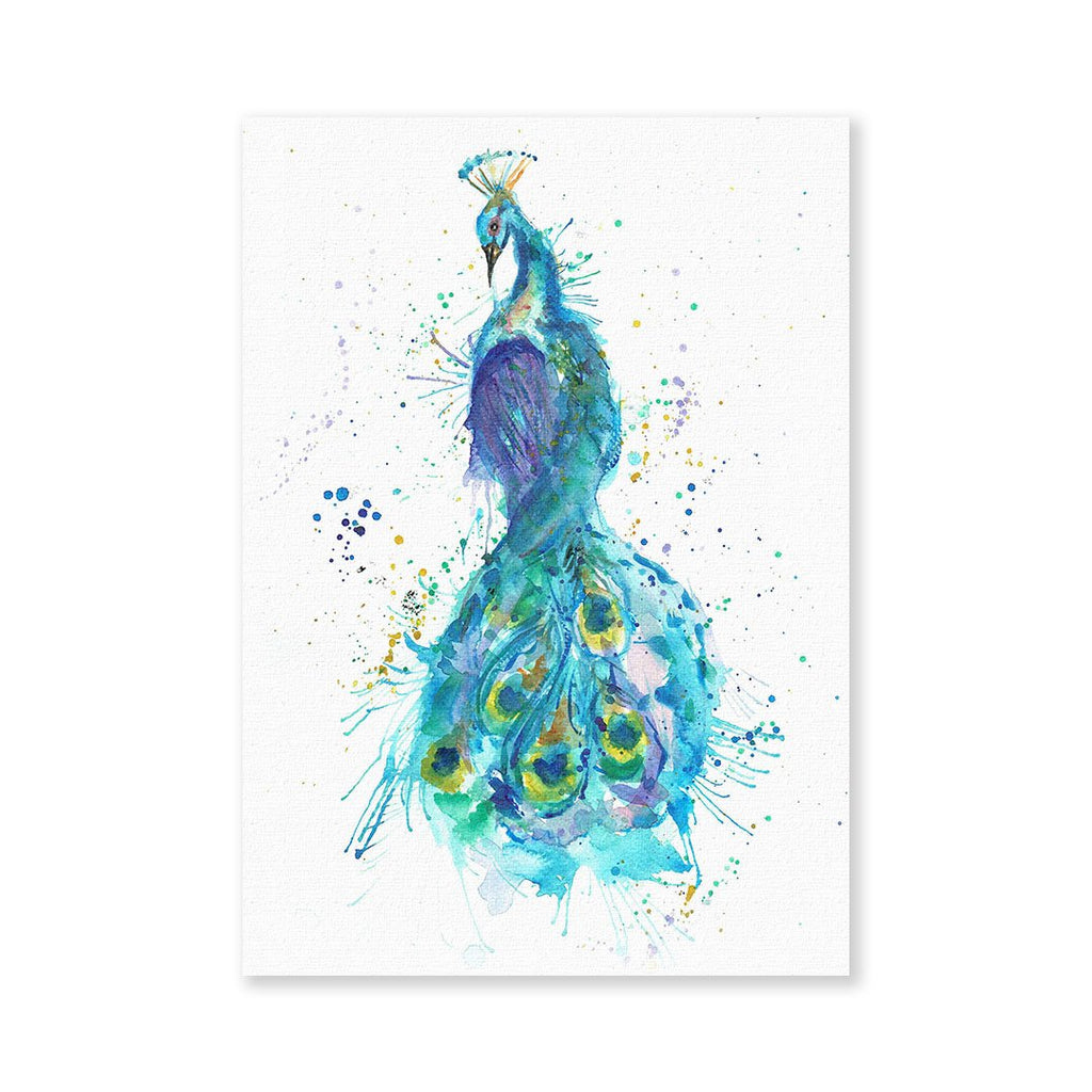 """Prince"" Peacock Signed Fine Art Print"