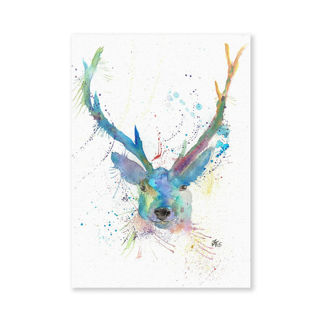 """Bruce"" Stag Signed Fine Art Print"