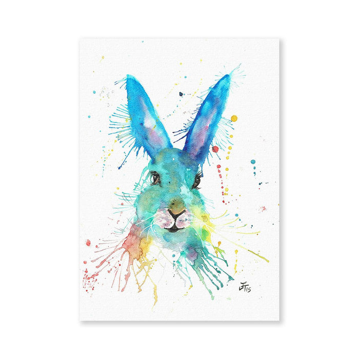 Hare Hare Signed Fine Art Print