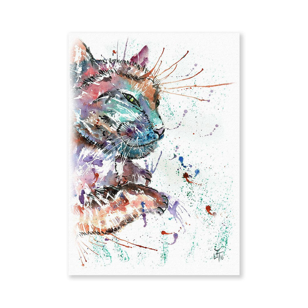 """Dave"" Cat Signed Fine Art Print"