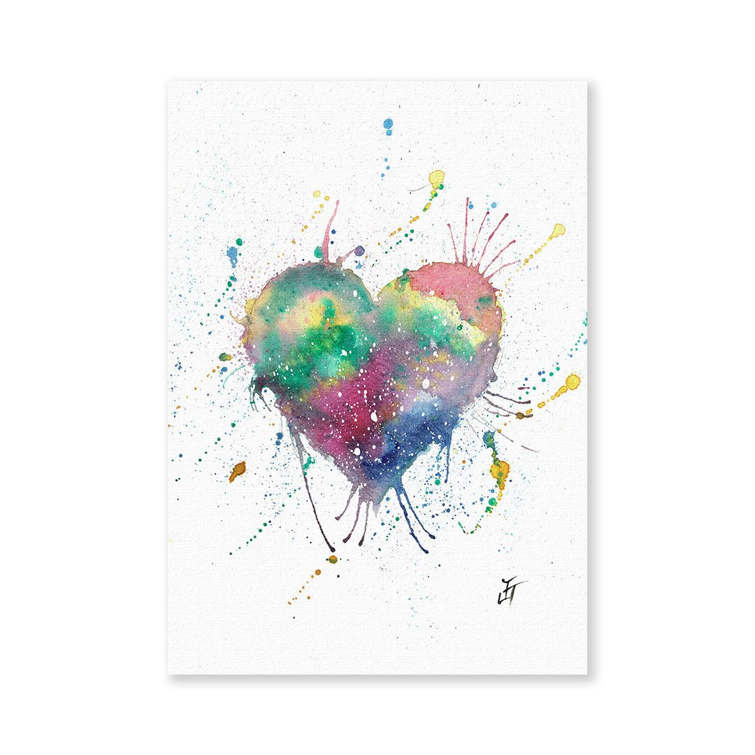 Heart Signed Fine Art Print