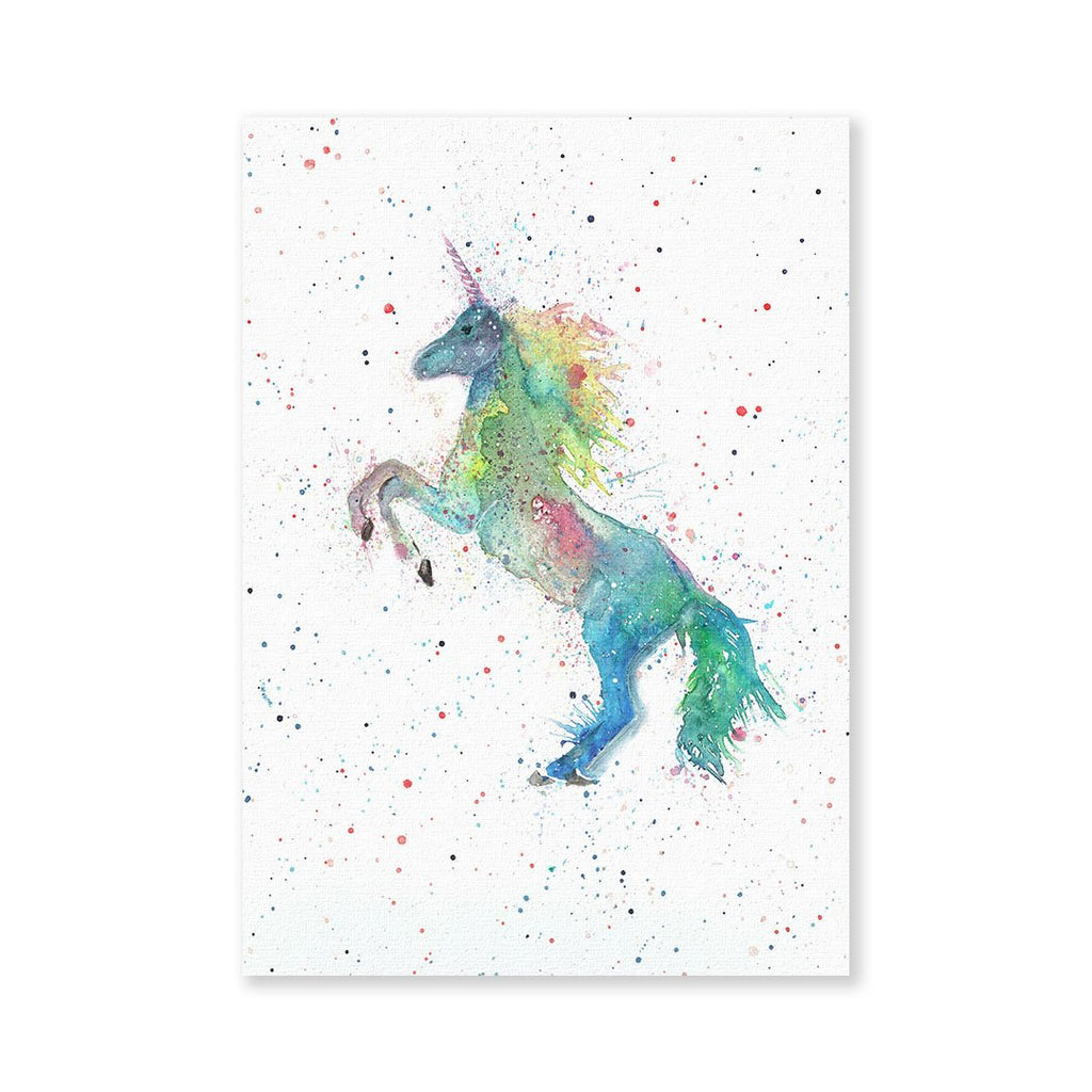 Rainbow Unicorn Signed Fine Art Print