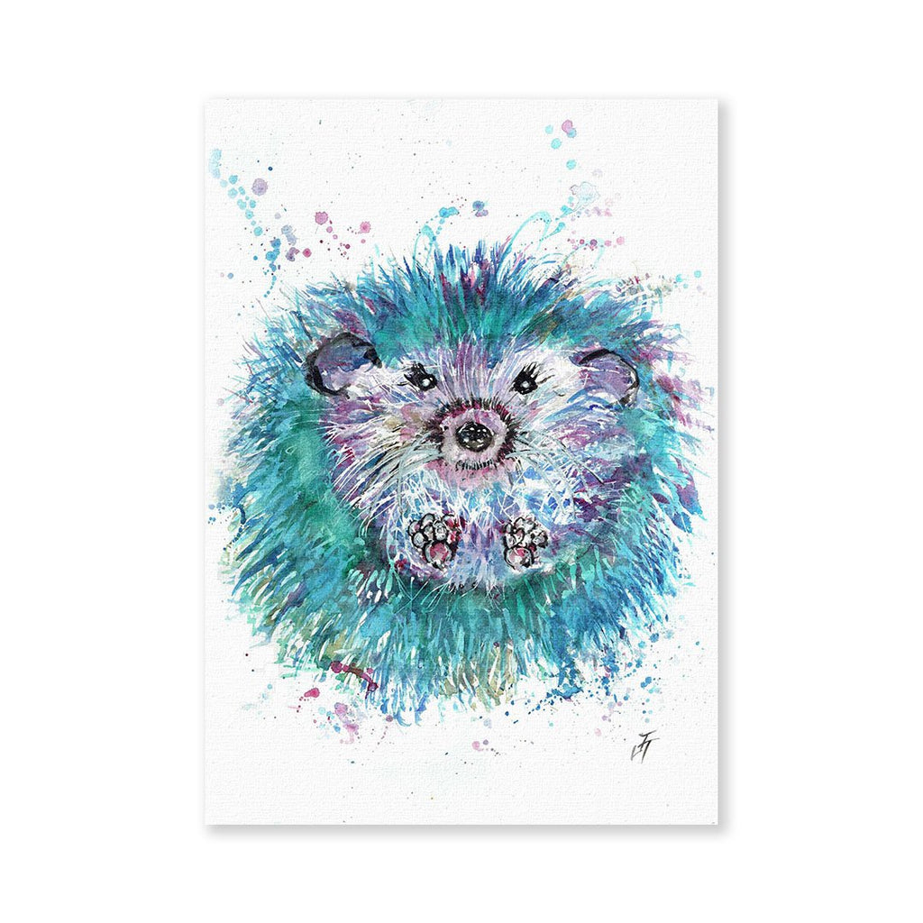 """Maisey"" Hedgehog Signed Fine Art Print"
